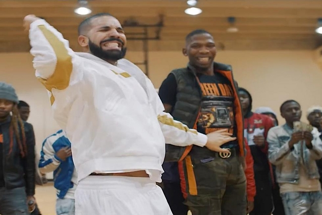 Drake Showcases His Dancing Skills Once Again