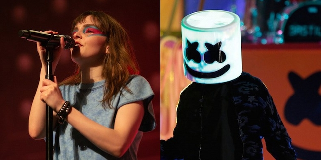 Marshmello Has Launched A New Music Video Featuring CHVRCHES