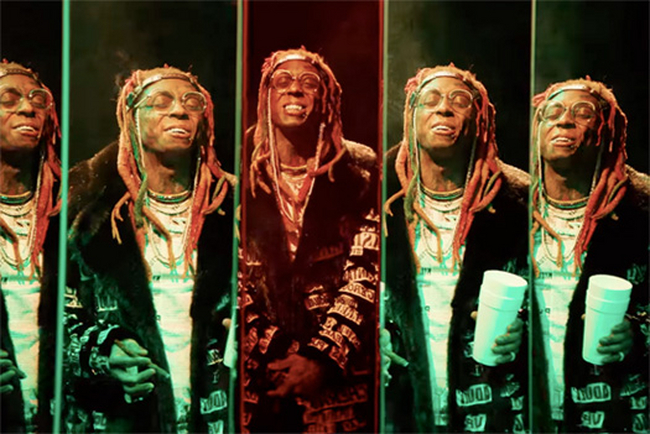 "Lil Wayne Teams Up With Lil Pump In New ""Be Like Me"" Music Video"