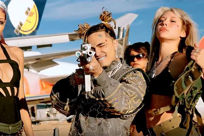 "Lil Pump Has Released a New Music Video Called ""Racks on Racks"""