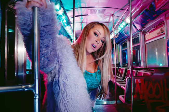 Mariah Carey Brings the Show On The Subway In Her Latest Music Video
