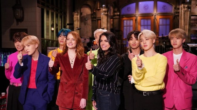 Korean Group BTS Break Barriers and Appear On Saturday Night Live