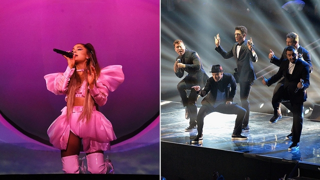 Ariana Grande Revived NSYNC During Coachella