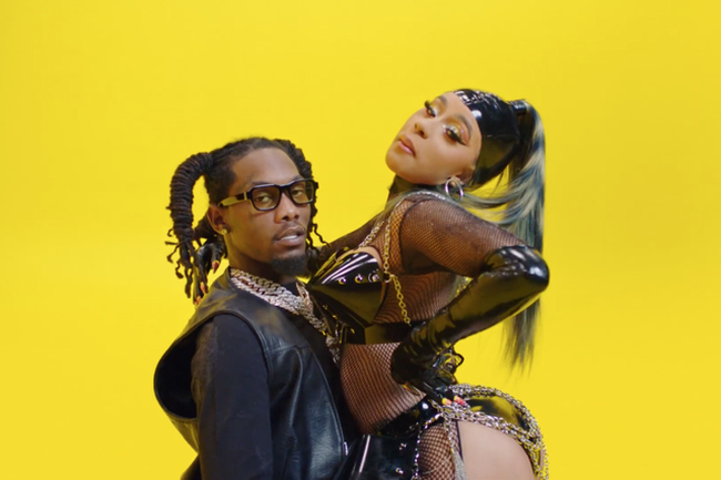 "Offset Has Released A Music Video for ""Clout"" Featuring Cardi B"