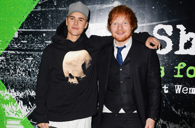 Ed Sheeran and Justin Bieber Have Released A New Song Together!