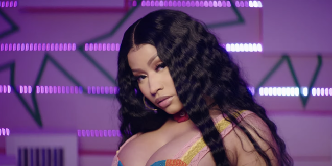 Nicki Minaj Has Launched a New Music Video!