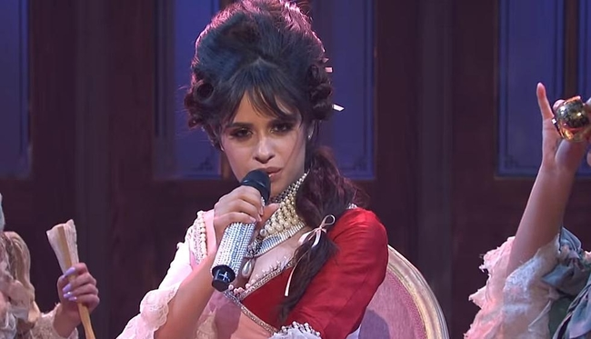 Camila Cabello Performs Live New Song On SNL