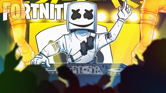 "Marshmello Is A Fortnite Character In New ""Alone"" Music Video"