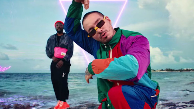 Black Eyed Peas Team Up With J Balvin In New Music Video