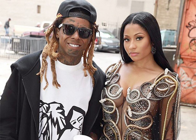 Nicki Minaj Launches New Music Video With Lil Wayne