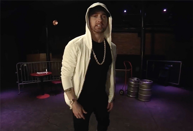 "Eminem Has Released A New Freestyle Called ""Kick Off"""